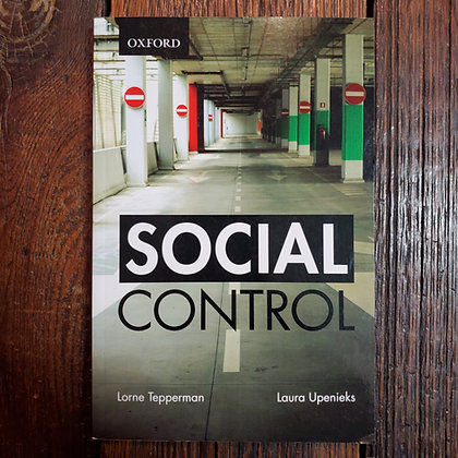Tepperman & Upenieks SOCIAL ORDER (Oxford University Press)