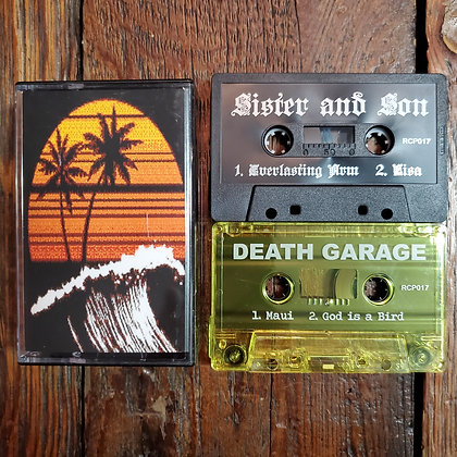 THE GOSLINGS : Sister and Son / Death Garage - 2 x Tape (Ltd. 150 Copies!)