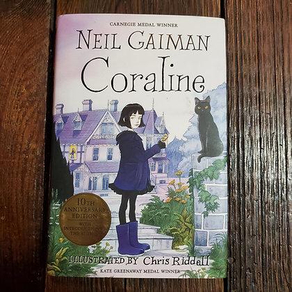 Gaimsn, Neil - CORALINE (10th Anniversary Hardcover)