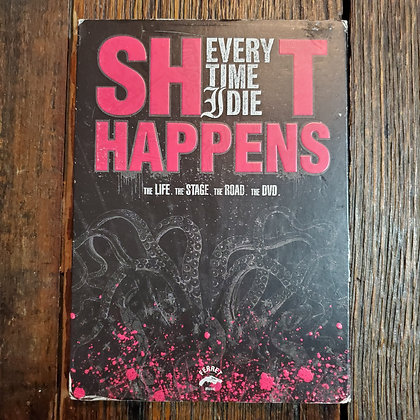 EVERYTIME I DIE Shit Happeans DVD