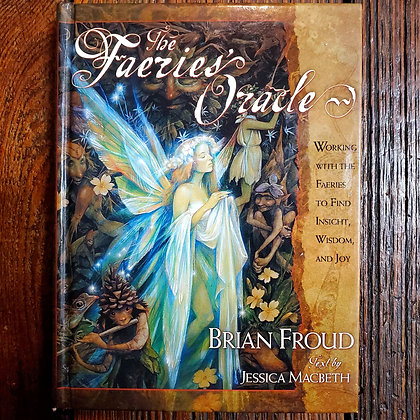 THE FAERIES ORACLE - Hardcover Book