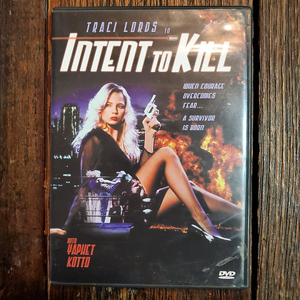 Intent To Kill DVD Traci Lords