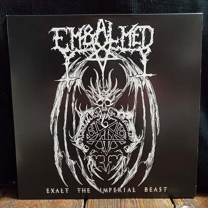 "EMBALMED : Exalt The Imperial Beast - ""Silver"" Vinyl LP ltd. 111 copies"