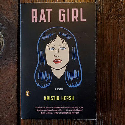 Hersh, Kristin : RAT GIRL - Softcover Book