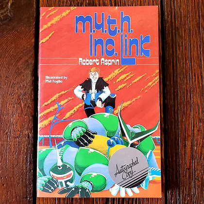 Asprin, Robert : M.Y.T.H. INC. LINK - Autographed Softcover Book