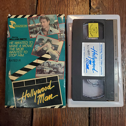 HOLLYWOOD MAN - Rare Big Box VHS
