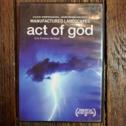 ACT OF GOD DVD