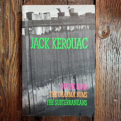 Kerouac, Jack : 3 Novels in 1 Softcover Book
