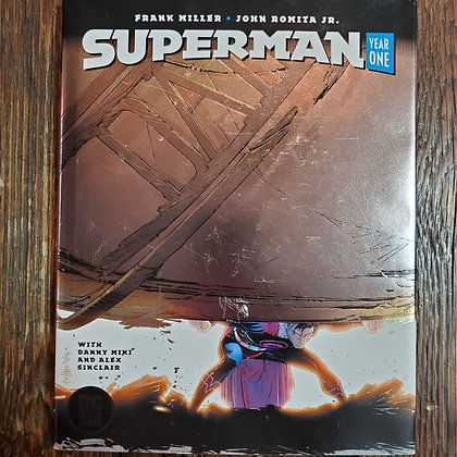 SUPERMAN Year One - Hardcover Graphic Novel