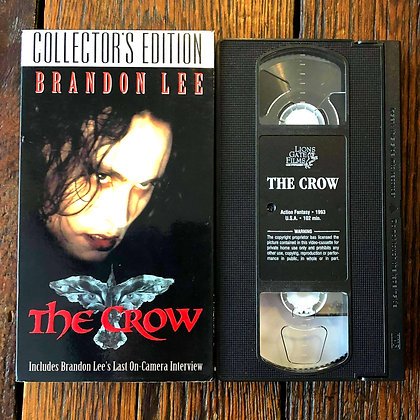 THE CROW Collector's Edition - VHS