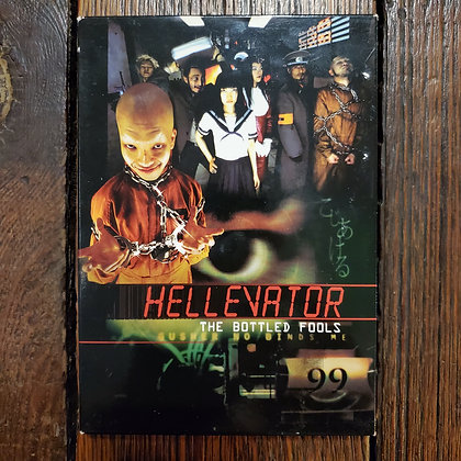 HELLEVATOR The Bottled Fools - DVD with Slip Cover