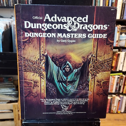 DUNGEONS & DRAGONS Dungeon Masters Guide 1979
