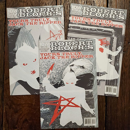 ROBERT BLOCH'S YOURS TRULY, JACK THE RIPPER - 3 Comic Book Deal
