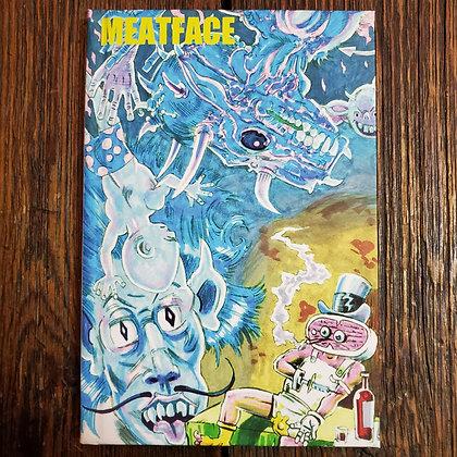 MEATFACE : Rick Limacher and the Meatmen - Hardcover Comic + a bonus