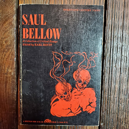 SAUL BELLOW Collection of Critical Essays - Softcover Book