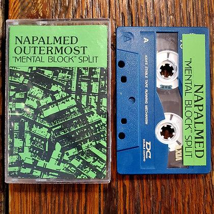 NAPALMED // OUTERMOST : Mental Block - Split Tape (1995 Japan)