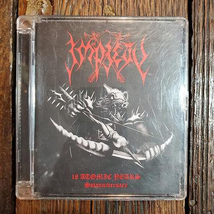 IMPIETY : 18 Atomic Years Satanniversary - 2 x CD Compilation