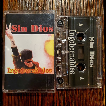 SIN DIOS : Ingobernables - Cassette Tape