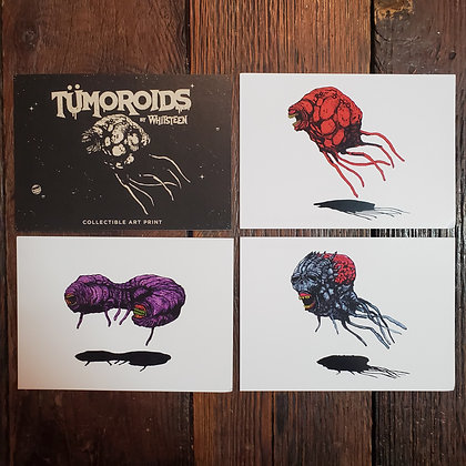 TUMOROIDS by WHITSTEEN Art Prints (Ltd.10 Copies!)