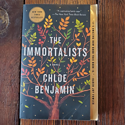 Benjamin, Chloe : THE IMMORTALISTS - Softcover Book