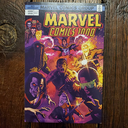 MARVEL COMICS 1000 - 80th Anniversary Comic Book