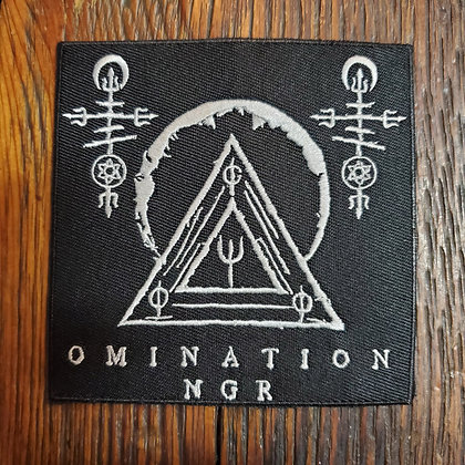 Omination : NGR - Embroidered PATCH