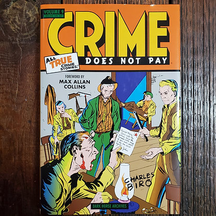 CRIME DOES NOT PAY Hardcover Comics Volume 9