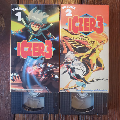 ICZER 3 : Volume 1 & 2 - VHS Tapes