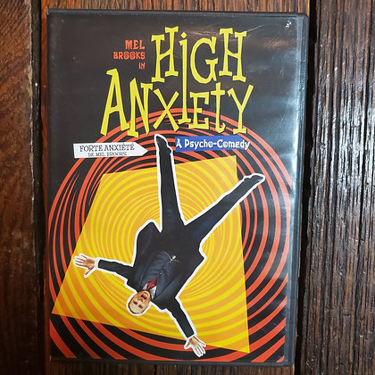 HIGH ANXIETY - DVD