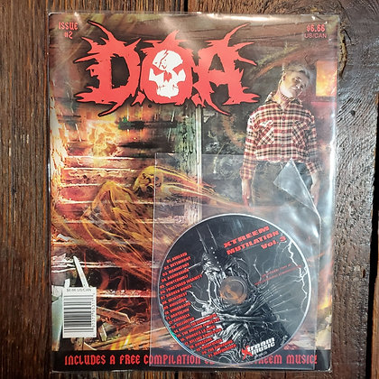 D.O.A Magazine #2 with CD