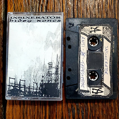 INSINERATOR // HIDEG RONCS - Split Tape (1994 Germany)