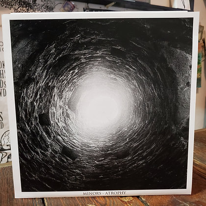 MINORS : Atrophy - Single Sides RED Vinyl LP