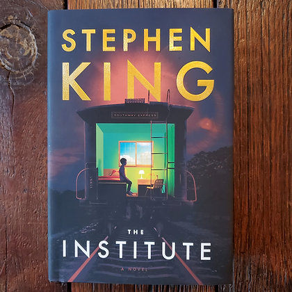 King, Stephen : THE INSTITUTE - 2019 Hardcover 1st Edition Book