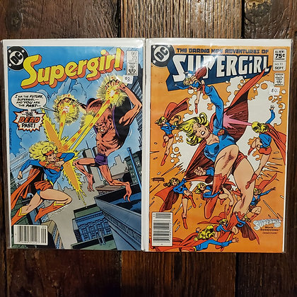 SUPERGIRL Comic Book 2 Pack Deal  (#11 & #23)