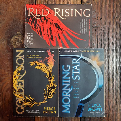 Brown, Pierce : THE RED RISING TRILOGY - 3 Softcover Books