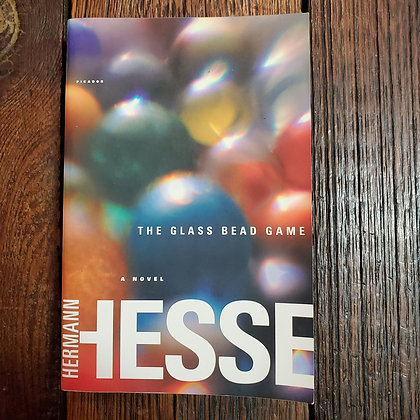 Hesse, Hermann : THE GLASS BEAD GAME - Softcover Book