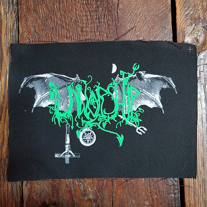 UNWORSHIP Logo - Cloth Patch