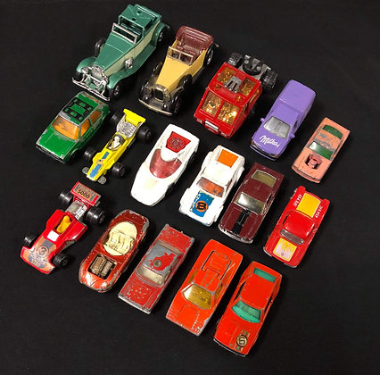 14+ MATCHBOX Car Bundle (well loved used condition)