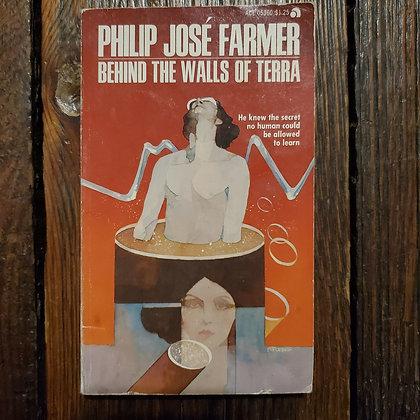 Farmer, Philip José : BEHIND THE WALLS OF TERRA - Vintage Paperback
