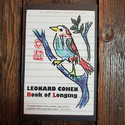 Cohen, Leonard : BOOK OF LONGING - Softcover Book