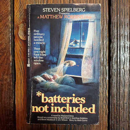 BATTERIES NOT INCLUDED - 1987 Paperback
