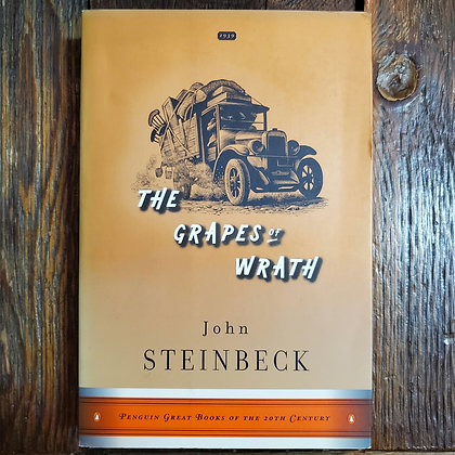 Steinbeck, John : THE GRAPES OF WRATH - Softcover Book