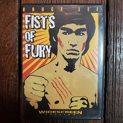 FISTS OF FURY - Bruce Lee DVD