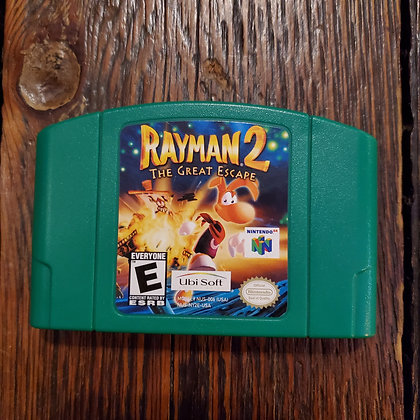 RAYMAN 2 The Great Escape - N64 Video Game Cartridge