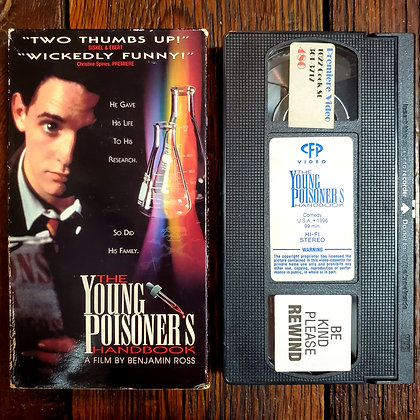 THE YOUNG POISONER'S HANDBOOK - VHS
