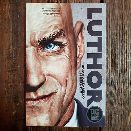 LUTHOR - Brain Azzarello / Lee Bermejo - Graphic Novel