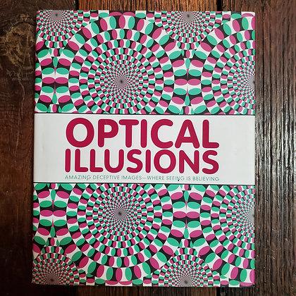 OPTICAL ILLUSIONS : Hardcover Book