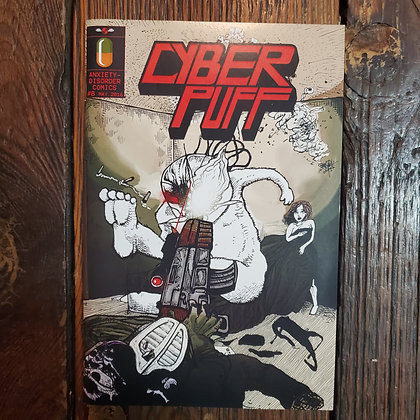 Whitsteen CYBER PUFF #8 2016 - Local Comic