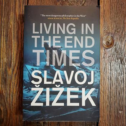 Žižek, Slavoj : LIVING IN THE END TIMES - Softcover Book