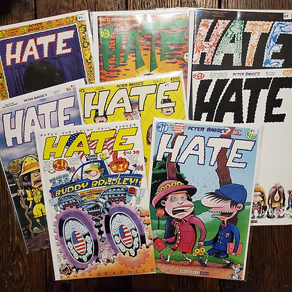 HATE - 8 Pack of Comic Books including #1 !!